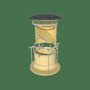 TPI ARC-D - Automatic Recirculation Chimney Dynamic