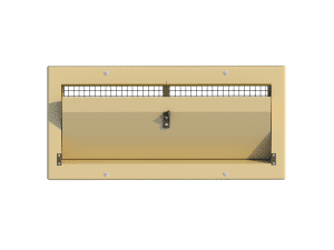 Ventilation pig and poultry house side wall inlet 3000-VFBR-C front view - TPI-Polytechniek