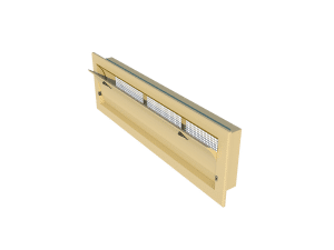 Ventilation - poultry house tunnel inlet 6000-VFG-C side view - TPI-Polytechniek