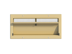 Ventilation pig and poultry house side wall inlet 3000-VFBG-C front view - TPI-Polytechniek