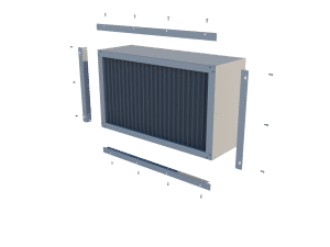 Light trap TPI-933 For wall mounted air inlet - TPI-Polytechniek