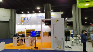 TPI-Polytechnics - Booth at the Internation Pig and Poultry show in Atlanta, Georgia