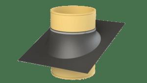 Flexible roof seal for ventilation chimneys - TPI-Polytechniek